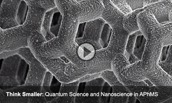 Think Smaller: Quantum Science and Nanoscience in APhMS