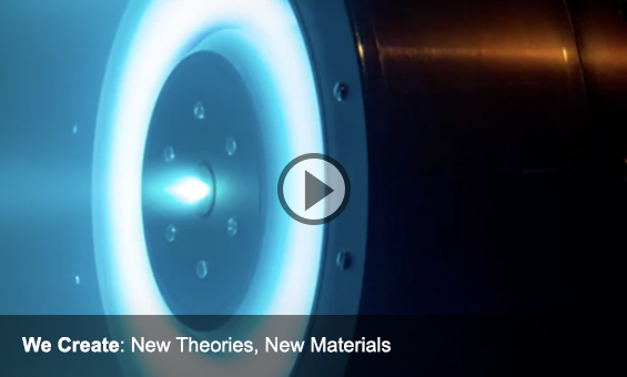 We Create: New Theories, New Materials