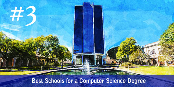 Third in Best Schools for a Computer Science Degree