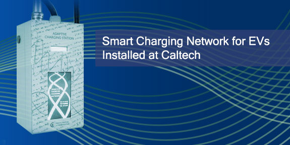 Smart Charging Network EVs Installed at Caltech