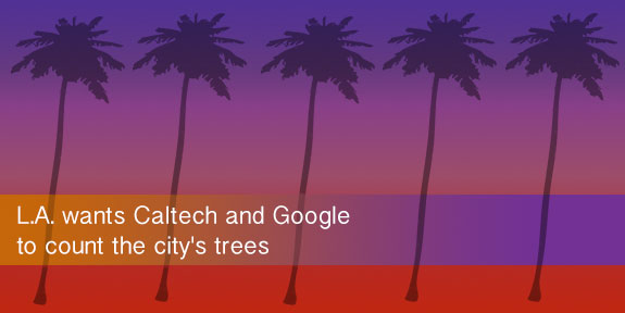 L.A. wants Caltech and Google to count the city's trees