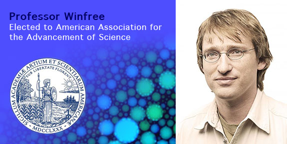 Professor Winfree elected to American Association for the Advancement of Science
