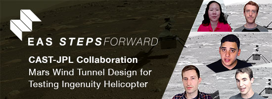 Mars Wind Tunnel Design for Testing Ingenuity Helicopter - CAST-JPL Collaboration