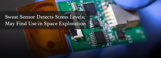 Sweat Sensor Detects Stress Levels