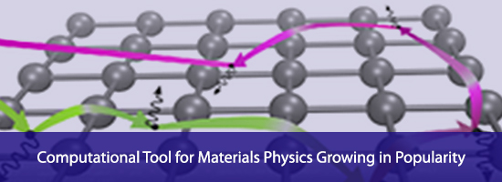 Computational Tool for Materials Physics Growing in Popularity