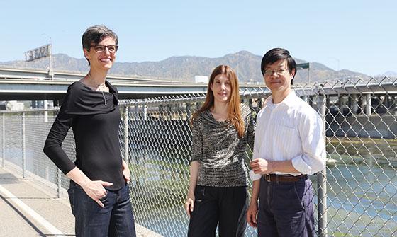 Professors Daraio, Asimaki, and Low