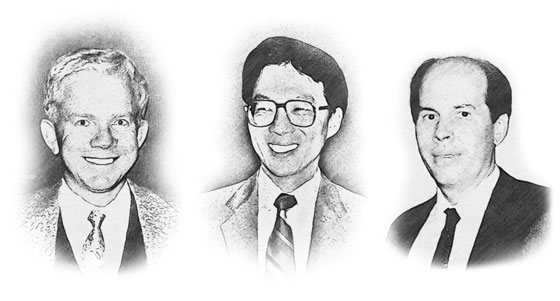 Left to right: Ortel members Nadav Bar-Chaim, Kam Lau, and Henry (Hank) Blauvelt