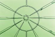 Microfabricated rotary pump