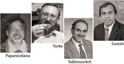 Papanicolaou, Yurke, Yablonovitch, Suresh