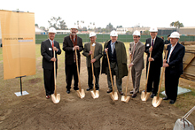 Breaking ground for Cahill Center