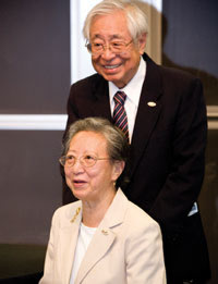 Ying-Chu Lin (Susan) Wu and Jain-Ming (James) Wu