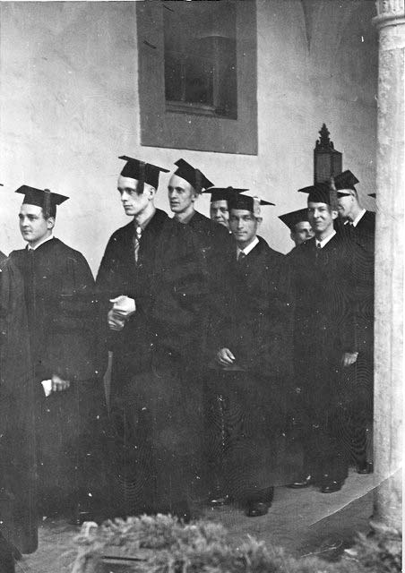 Francis Clauser - Caltech graduation