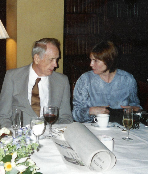 Francis Clauser's ninetieth birthday celebration at the Athenaeum in 2004.