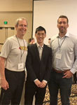 Paper authors from left to right Professor Doyle, Yuh-Shyang Wang, and Nikolai Matni