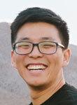 Graduate student Chris Roh