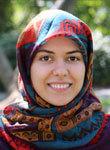 Graduate student Seyedeh Mahsa Kamali