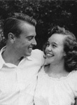 Cecil and Sally Drinkward in 1950
