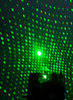 "Early in the research, Jang snapped this photo of a diffraction pattern created by a metasurface. Says Jang: ""The varying intensities of individual diffraction spots actually follows the predicted values that were calculated from the original 'design' of the randomness. That was a critical moment for us because that result implies that the optical randomness now can be 'controlled,' which contradicts with the traditional concept of optical randomness."" Credit: Mooseok Jang"