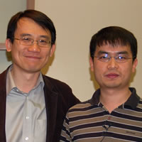 Professor Changhuei Yang and advisee Guoan Zheng