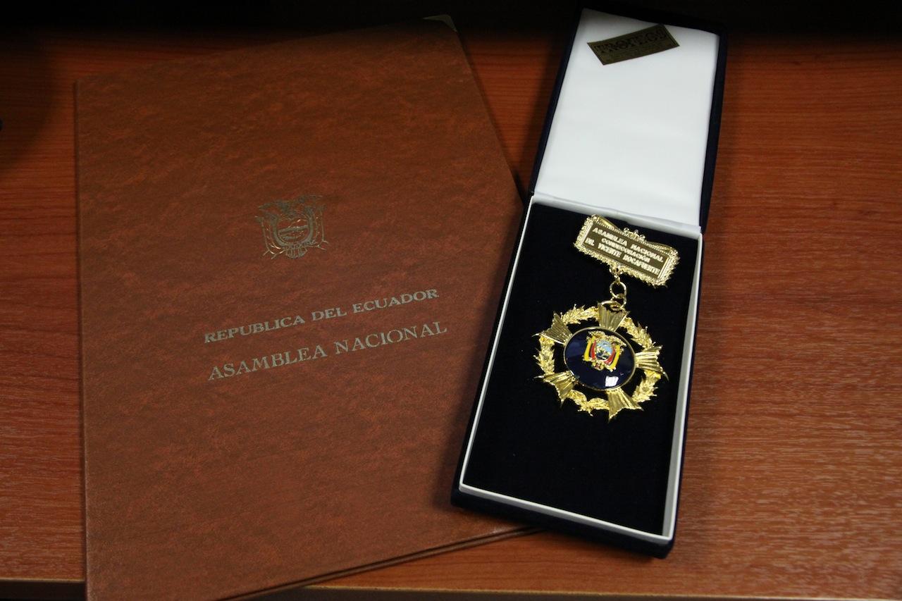 Dr. Vicente Rocafuerte Medal
