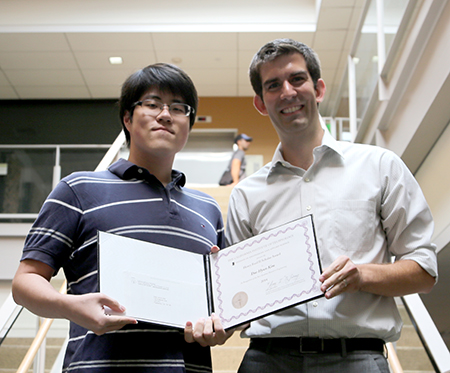 Dae Hyun Kim and advisor Professor Adam Wierman
