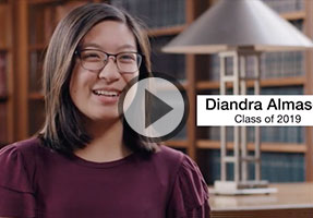 Diandra Almasco talks about her passion for Mechanical Engineering.