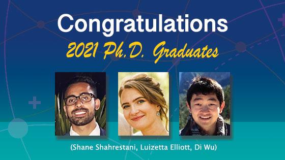 Congratulations to the 2021 MedE Ph.D. Graduates