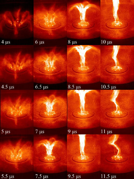 Time development of jet (Figure 5 in paper)