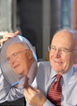 Gordon Moore, an Intel co-founder, holding a silicon wafer in 2005. Moore's Law foresaw the rate of increase in computing power. Credit Paul Sakuma/Associated Press