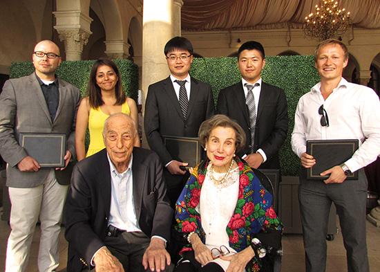 Winners with Mr. and Mrs. Demetriades - Tsafka - Kokkalis