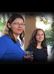 From left to right EAS postdoctoral scholars Jeannette Kemmer and Eleftheria Roumeli
